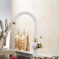 New Design Hot and Cold Kitchen Sink Faucets With Porcelain ...