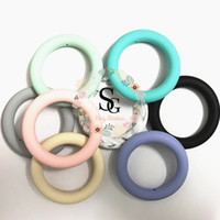 Lot of 20 new chewable ring - Silicone Round ring 65mm Teethi...