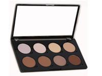 NYX Contour Pro Contour Pro Pattle Revue 8 Couleur Pallette Bronzers Kit Set Fondant Hydratant Maquillage Maquillage Cosmétiques
