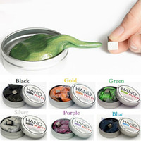 Hand putty DIY slime Playdough magnetic slime toy Rubber Mud...