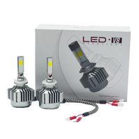 H10 LED Headlight Kit 4 Side COB Single Beam High Low Kit de alta potencia 72w 12000lm 6000k Reemplace por bombillas halógenas o HID