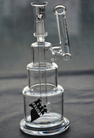 Hitman Glass Bangs base solide Brilliance Cake Pipe à eau Dab Rigs avec dôme et clou joint 14 mm