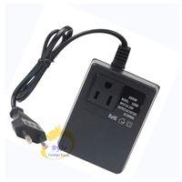 200 W Transformador de Voltagem AC 220 V para 110 V abaixar Ou AC 220 V para 110 V step up Travel Plug Power Adapter UE / EUA