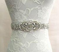 2019 الزفاف الزفاف جودة عالية المرأة الجميلة الملحقات الأزياء العروس العروسة حزام الشحن السريع رخيصة الزفاف الزنانير 27 * 5 سنتيمتر