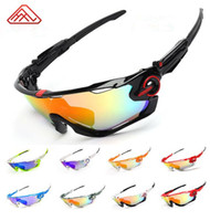 uv 400 cycling glasses with 3 lens polarizing bike goggle me...