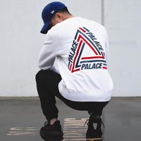 Palace Skateboards Tri- Crib Sweatshirt O- Neck Skeleton Graph...