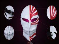 PVC Ölüm Ichigo Kurosaki Bleach Maske Dans Masquerade Partisi düşük fiyat