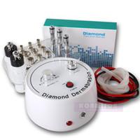 3pcs 다이아몬드 완드와 9pcs Dermabrasion 팁 Microdermabrasion 기계 휴대용 홈 사용 Dermabrasion Faical 기계