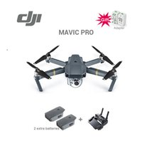 2017 New Hot !!!! En stock Original DJI Mavic Pro Drone Avec batterie supplémentaire 4K Vidéo 1080p Camera RC Helicopter Freeshipping