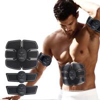 Smart Pulse EMS elétrica Tratamento Massager Abdominal Muscle Forma instrutor corpo sem fio de Fitness
