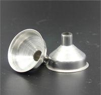 غير القابل للصدأ الفولاذ المقاوم للصدأ مصغرة زجاجات للزجاجات المصغرة، الزيوت الأساسية، DIY Lipbalms، سوائل توابل الطبخ، حماة الماكياج محلية الصنع