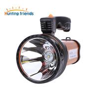 الصيد الأصدقاء السوبر مشرق المحمولة الأضواء المحمولة USB مصباح يدوي القابلة لإعادة الشحن 2 طرق Seacrchlight قوية للخارجية