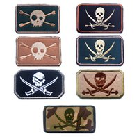 3. 15*2 inch size number of eye skulls 3D embroidered patch m...
