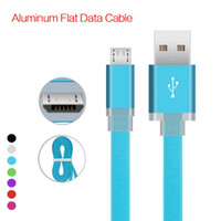 Micro V8 USB Cables 1M 3FT noodle Charger Data Sync metal fl...