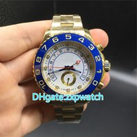 High quality luxury ym watch gold case blue ceramic bezel au...