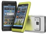 Orijinal Yenilenmiş Nokia N8 Unlocked Cep Telefonu Tek Çekirdekli 16 GB 3.5 inç 12.1MP 3G WCDMA
