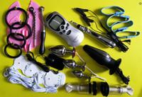 Electro Shock Sex Kit 페니스 유방 항문 자극 마사지 섹스 토이 커플 엉덩이 플러그 성인용 섹스 게임 제품