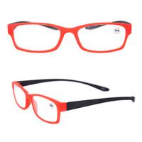 Groothandel Mode Lichtgewicht Palstic Power Reading Bril Zwart Vergroting Crystal Vintage Lees Brillen FlexBile Hang Hals 175102