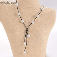 New arrivals Handmade Single simulation Freshwater pearl wit...