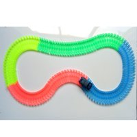 220 Piece Racing Track Hockey Bend Flex Luminous In The Dark...