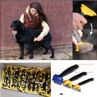 New 3rd Generation Dog And Cat Pet Brush Removal Grooming Co...