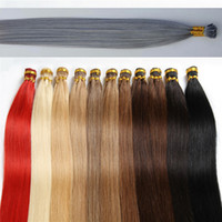 7A New Arrival 1g s 100g lot Pre- Bonded Fusion I- tip Hair Ex...