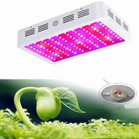 미국 주식! 전체 스펙트럼 LED 성장 조명 600 / 1000 / 1200W 더블 칩 LED 조명 성장 꽃과 성장을위한 실내 식물 램프