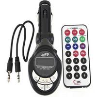 مشغل MP3 للسيارة مع FM الارسال المغير Atuio كابلات لاسلكية للتحكم عن بعد USB / SD / MMC للسيارات