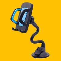 Evrensel 360 ° Araba Cam Dash kurulu Tutucu Dağı iPhone Samsung GPS PDA Cep Telefonu Siyah Için Standı
