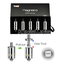 Authentic Yocan Magneto Replacement Coils Head Ceramic Wax C...