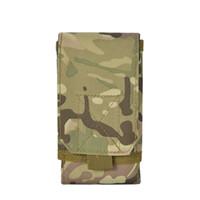 Bolso de la cintura para bolsas de teléfonos móviles Fans Militares Bolsillos tácticos Caza Deportes al aire libre Desgaste de la bolsa de la bolsa de la billetera Moda 8LW F