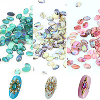 Wholesale- 10 Pcs Lot 3D Nail Art Decorations Colorful Natura...
