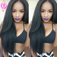Brazilian Straight Hair 4 Bundles With Free Part Lace Closur...