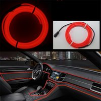 DIY Led Decoration Neon Light 12V 5Meters Car Interior LED F...