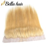 Blond Hair Lace Frontal #613 100% Virgin Human Hair Weaves 1...