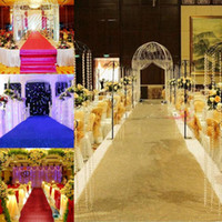 1. 4 m Wide X 10 m roll Shiny Pearlescent Wedding Carpet Fash...