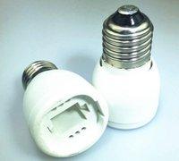 يو بي إس دي إتش إل فيديكس الحرة 500PCS E27 إلى G24 حامل مصباح محول ضوء المقبس