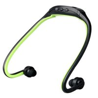 Wholesale- Sport MP3 Player Earphones Headset Portable Music...