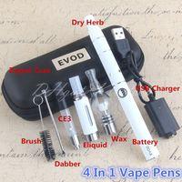 4 in 1 VAPE Starter Kit Dry Herb Wax MT3 510 Penne vapes VAPES Batteria EVOD 4IN1 VAPorizzatori Migliore Kit Ecig Magic A07