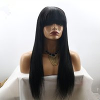 Full lace wigs Liu Haifa Fills My Lace Wig Of Human Hair Bla...