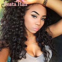 Virgin Brazilian Human Hair Afro Kinky Curly Full Lace Wigs ...
