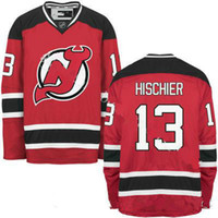 Hot NEW ARRIVAL New Jersey Devils  13 Nico Hischier 2017 No.1 Draft Pick Custom  NHL Hockey Jerseys White Red Cheap 99b79c775