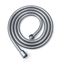 Flexible Home Shower Head Bathroom Hose Pipe Tub Stainless S...