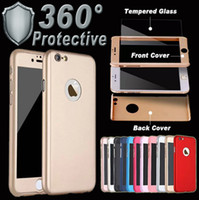 For iphoneX 360 Degree Coverage Hard PC phone Case With Temp...