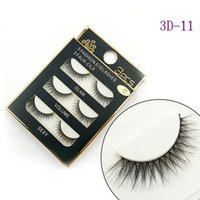 NEW 3D Mink Hair False eyelashes 16 Styles Handmade Beauty T...