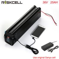 Bateria de lítio elétrica da pilha da bateria 36Volt Sanyo da bateria da bateria do Li-íon da bicicleta 36V 25AH da vida de ciclo profunda com carregador e USB