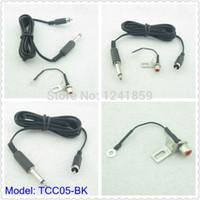 All'ingrosso-Nero RCA Jack Conversione Tattoo Power Clip Cord per Tattoo Power Kit Set Fornitura TCC05 #