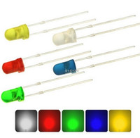 MIX 스루 홀 확산 5mm LED 다이오드 적색 / 녹색 / 청색 / 황색