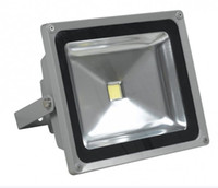 Yüksek kaliteli parlak ışık 50 W LED Sel ışıkları 12 V 24 V bowfishing Led Tekne aydınlatma 50 Watt 5500LM Projektörler DHL kargo ücretsiz