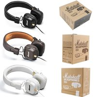 Marshall Major I 1.0 Casques Casque DJ Studio Casque Deep Bass Casque Isolant Casque pour iPhone Samsung AAA
